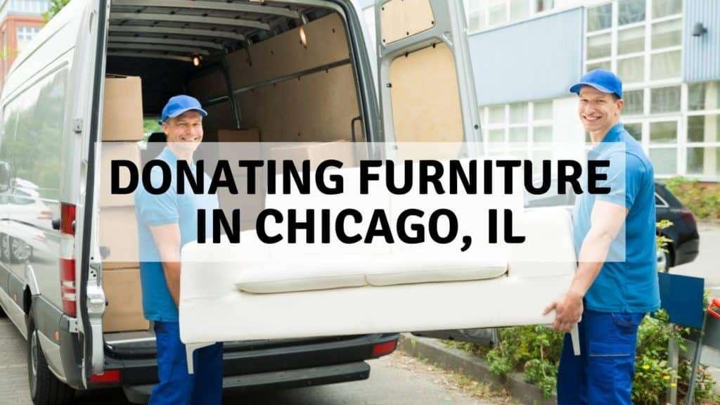 Donating Furniture in Chicago, IL